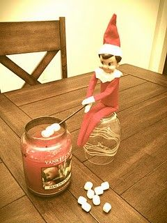 Elf on the shelf ideas 7