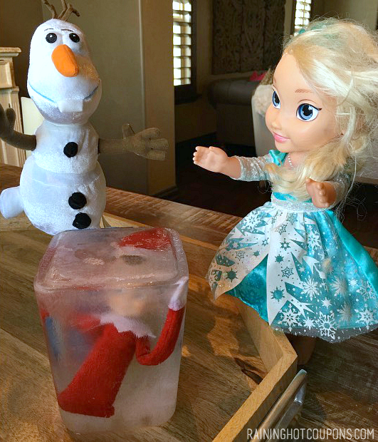 Elsa Elf on the Shelf