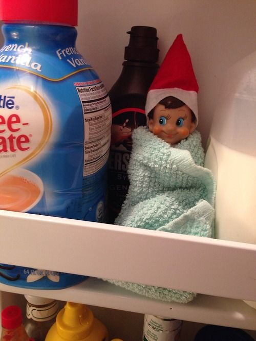 LOTS of Elf on the Shelf Ideas 21