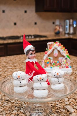 LOTS of Elf on the Shelf Ideas 23