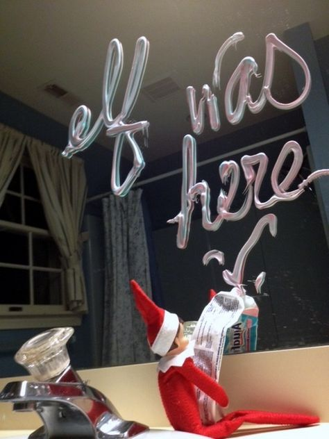 LOTS of Elf on the Shelf Ideas 24