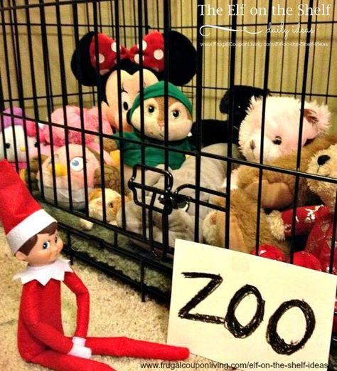 LOTS of Elf on the Shelf Ideas 27