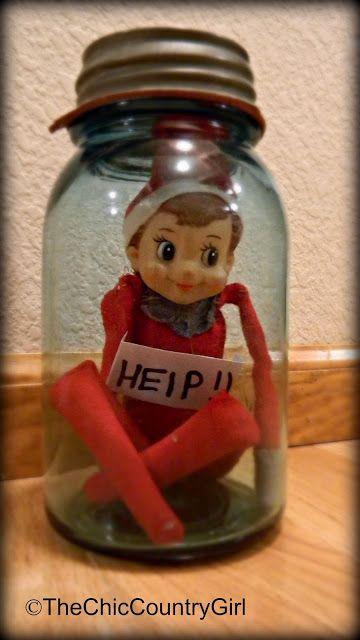 LOTS of Elf on the Shelf Ideas 30