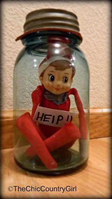 LOTS of Elf on the Shelf Ideas 30