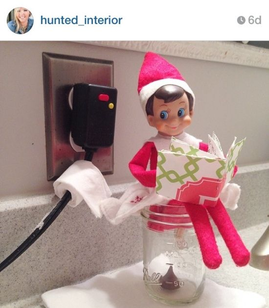 LOTS of Elf on the Shelf Ideas 33