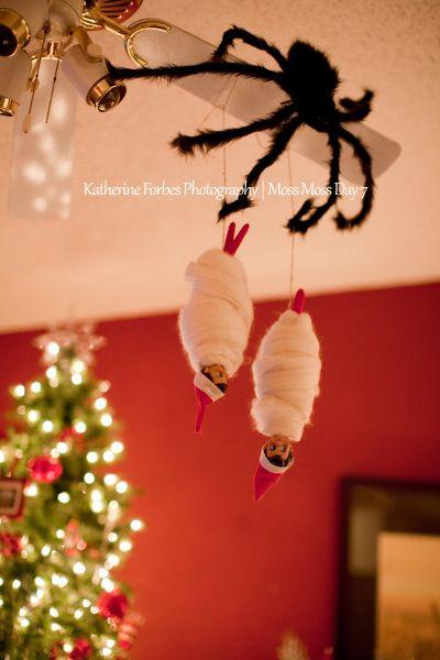 LOTS of Elf on the Shelf Ideas 34