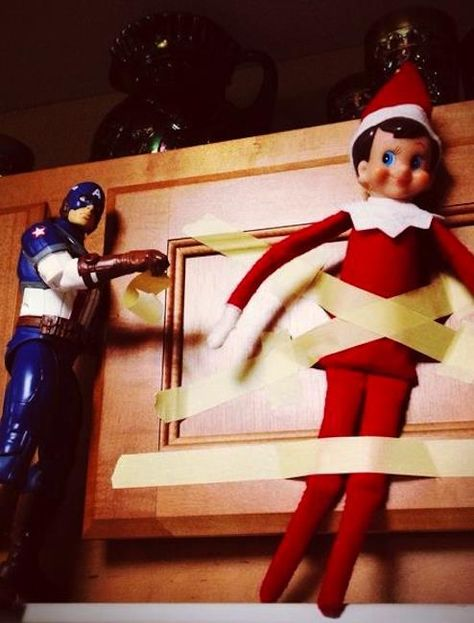 LOTS of Elf on the Shelf Ideas 37