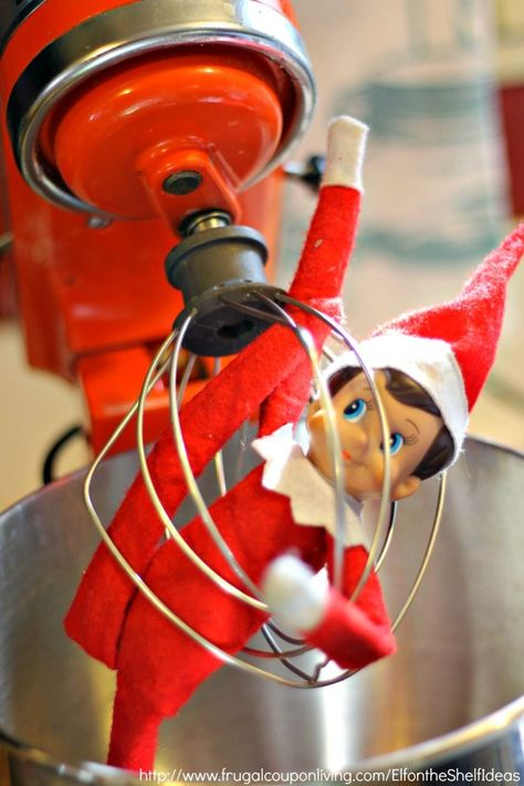 LOTS of Elf on the Shelf Ideas 39