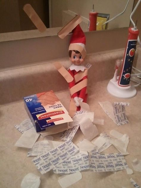 LOTS of Elf on the Shelf Ideas 45