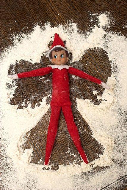 LOTS of Elf on the Shelf Ideas10