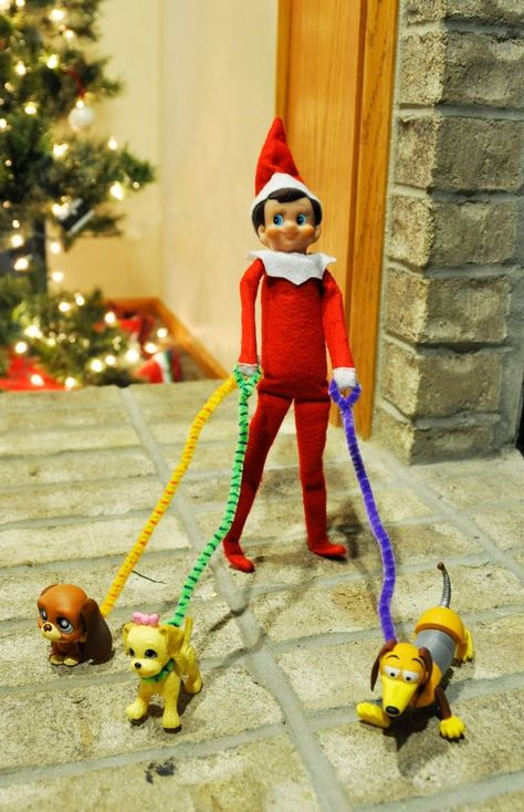 LOTS of Elf on the Shelf Ideas11