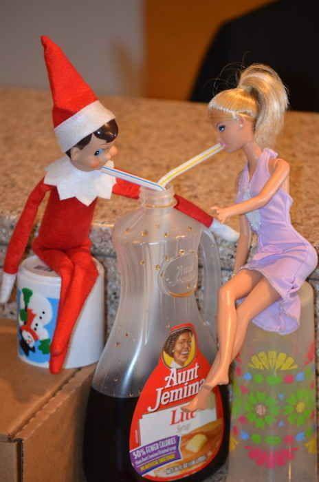 LOTS of Elf on the Shelf Ideas12