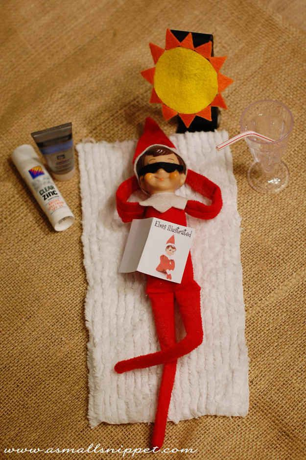 LOTS of Elf on the Shelf Ideas16
