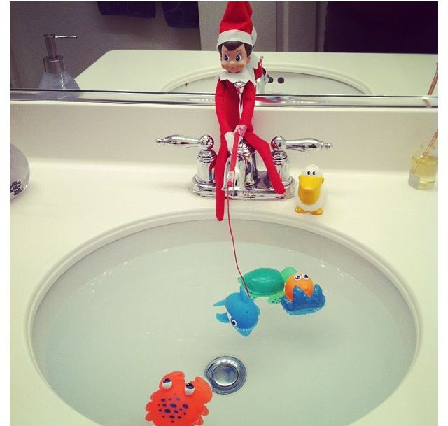 LOTS of Elf on the Shelf Ideas18