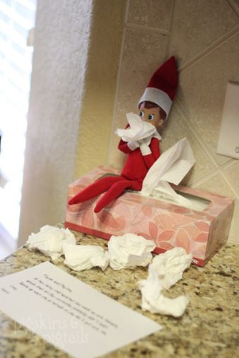 LOTS of Elf on the Shelf Ideas8