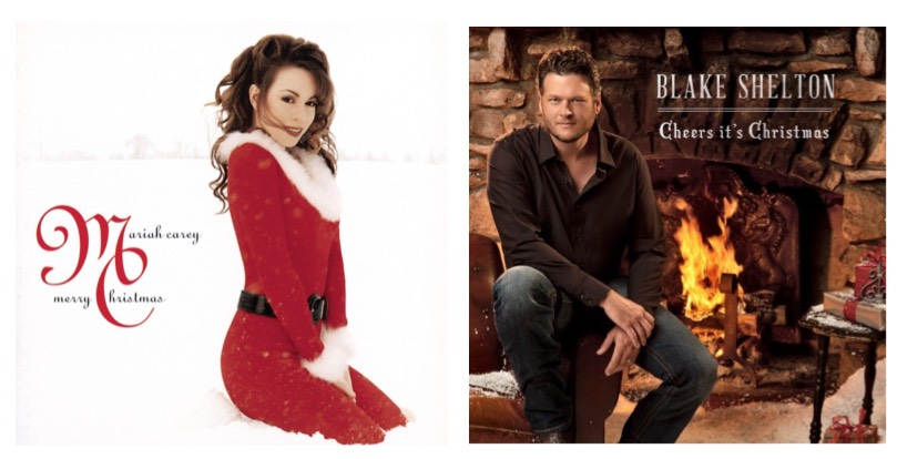 Blake Shelton Cheers Its Christmas.Free Mariah Carey Merry Christmas Mp3 Album And Blake