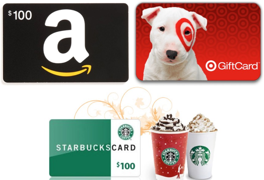I'm Giving 2 Readers $100 Gift Cards (to Target, Amazon or Starbucks!)