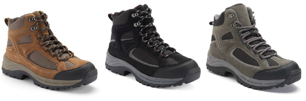 9576f13fac8 Kohl's: Croft & Barrow Men's Hiking Boots Only $18.74 (Reg. $84.99)