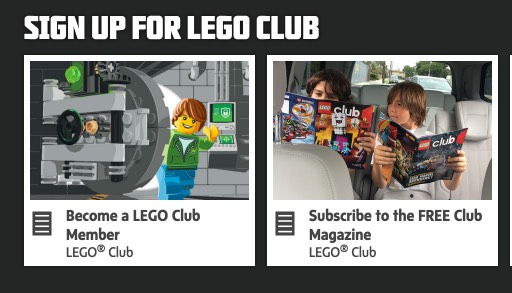 FREE 2 Year LEGO Club Magazine Subscription