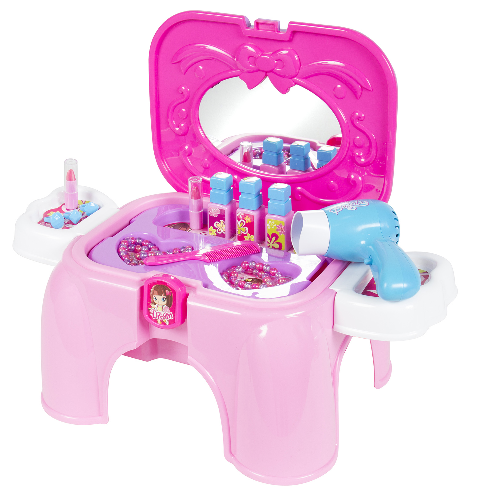 Sears Bestchoiceproducts Kids Toy Vanity Cosmetic Pretend