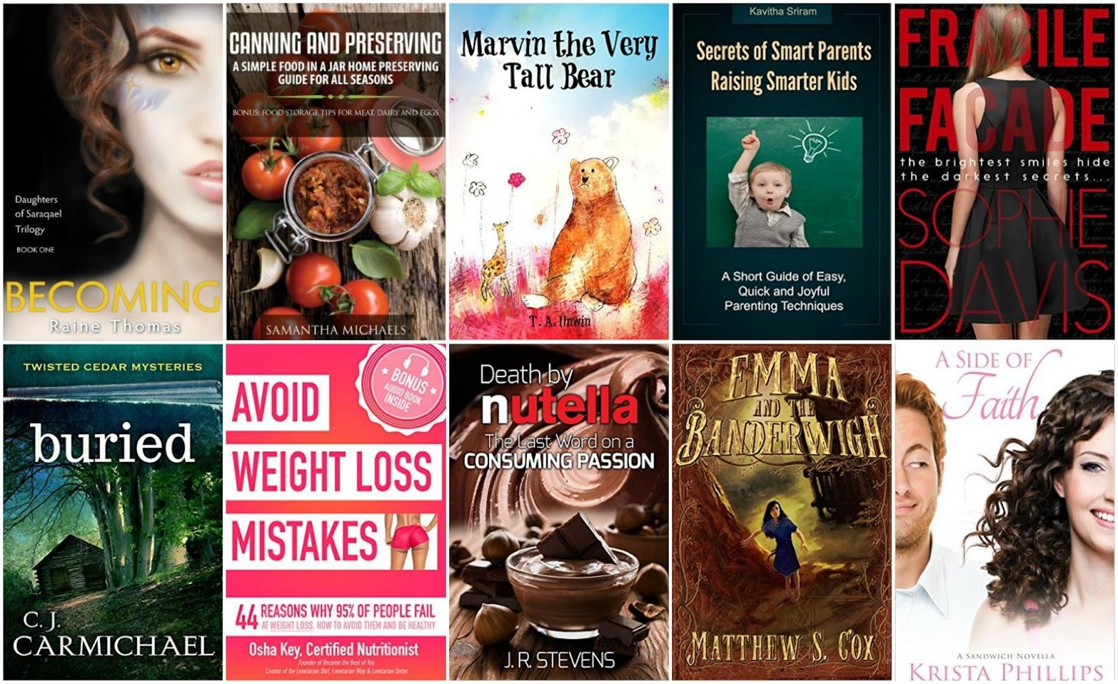 10 Free Kindle Books 2-13-16