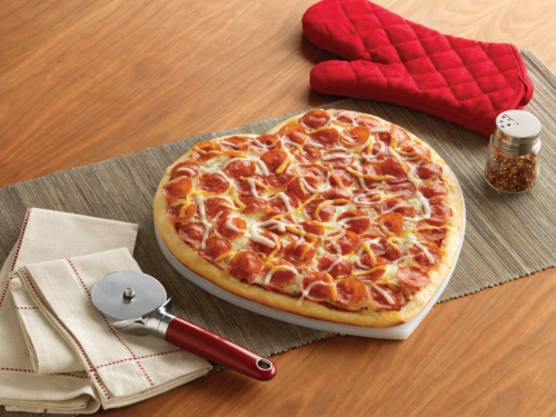 Like Papa Murphy's other pizzas, the HeartBaker is a premium-quality, budget-friendly pizza. Price and participation vary nationwide. (PRNewsFoto/Papa Murphy's)