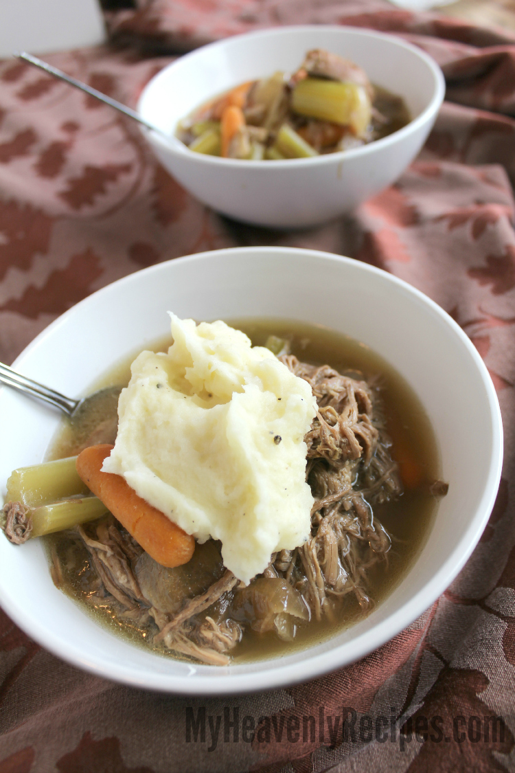 Crock Pot Pot Roast Topped with Mashed Potatoes Recipe small