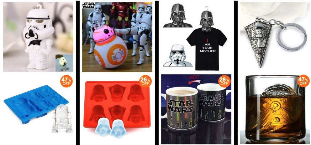 *HOT* 50% off Tons of Star Wars Items = ONLY $1.86 + FREE Shipping!