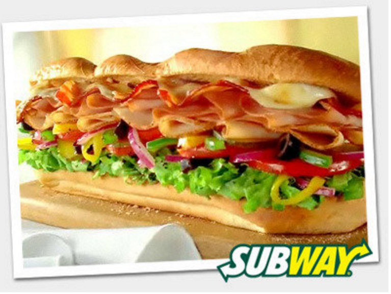 Subway: ALL Classic Footlongs ONLY $6