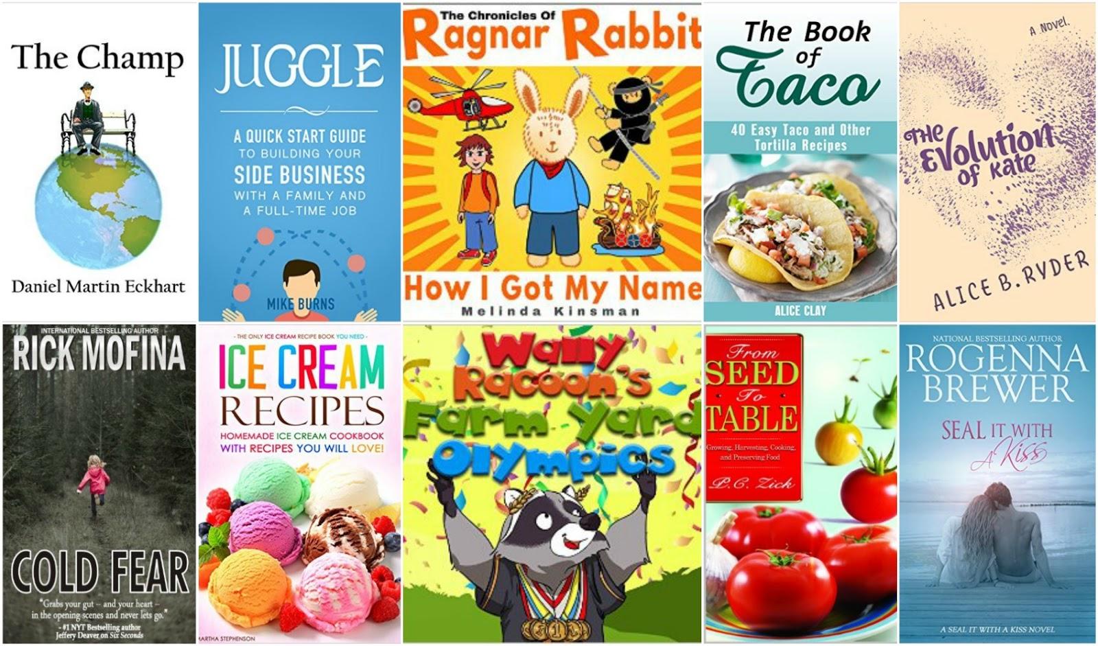 10 Free Kindle Books 3-11-16