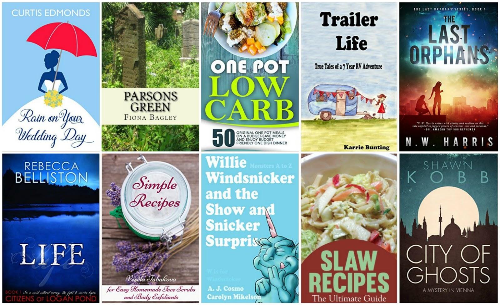 10 Free Kindle Books 3-20-16