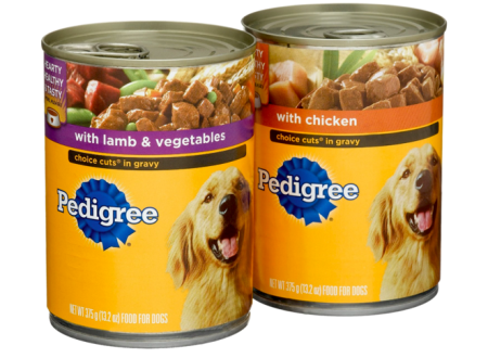 Pedigree Traditional Ground Dinner with Chicken & Rice ... |Pedigree Dog Food Can