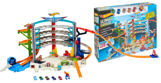 Hot Wheels Ultimate Garage Playset Only 26 38 Reg 99 99