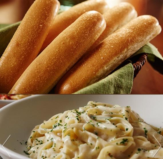Olive garden 4 pasta entrees 2 salad or soup 4 - Olive garden soup and salad dinner ...