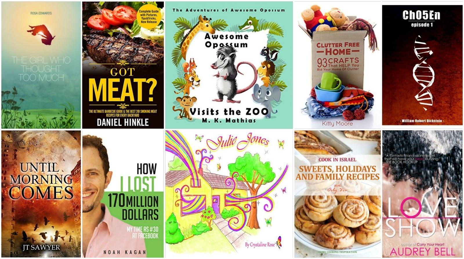 10 Free Kindle Books 4-22-16