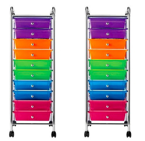 Studio A 10 Drawer Rainbow Cart Only $24.99 (Reg. $44.99)