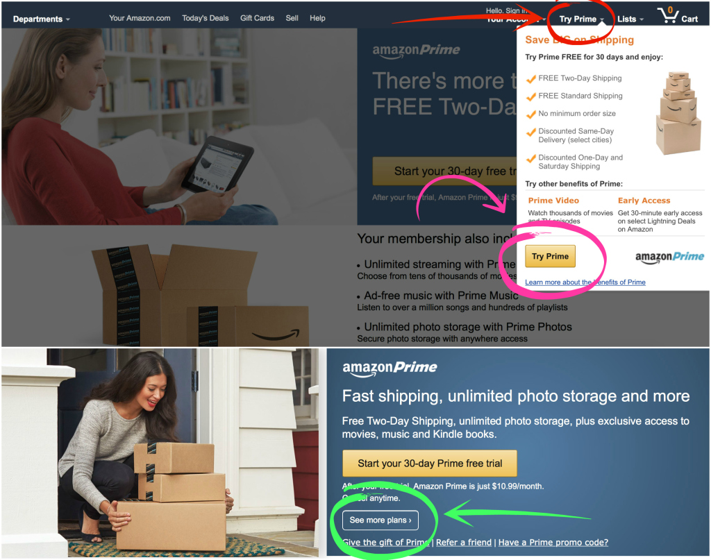how to delete amazon prime membership