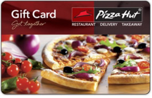 INSTANTLY Win a $10 Pizza Hut Gift Card!