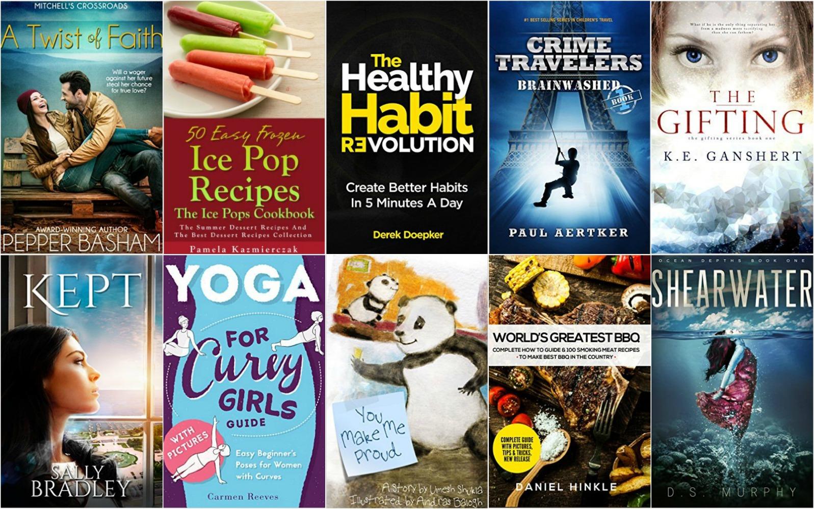 10 Free Kindle Books 5-13-16