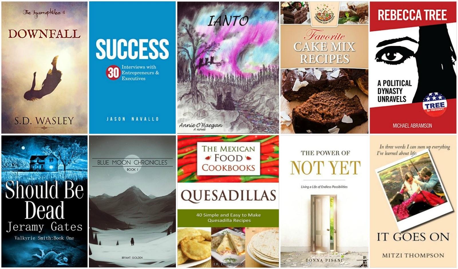 10 Free Kindle Books 5-23-16