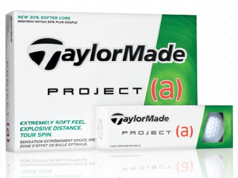 FREE Sleeve of TaylorMade Project (a) Golf Balls + FREE Shipping!
