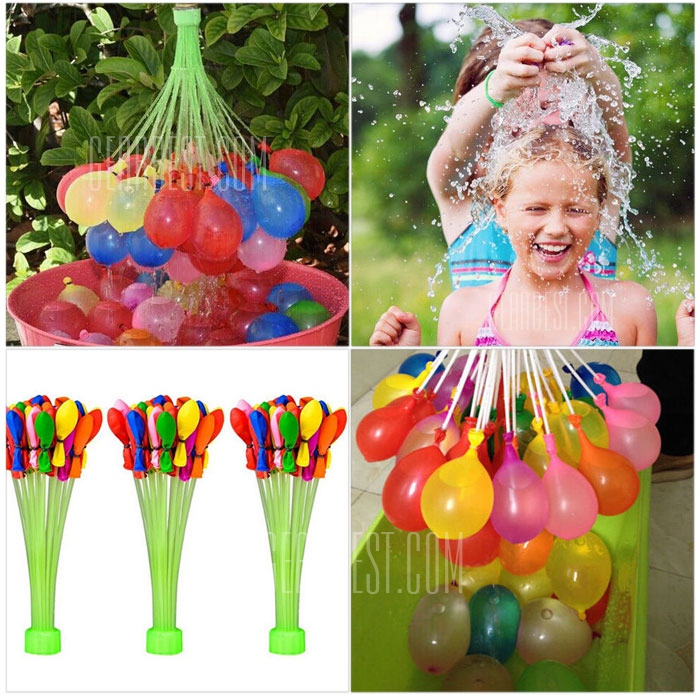 *HOT* 111-Count Box of Magic INSTANT Fill Water Fight Balloons Only $3.19 + FREE Shipping