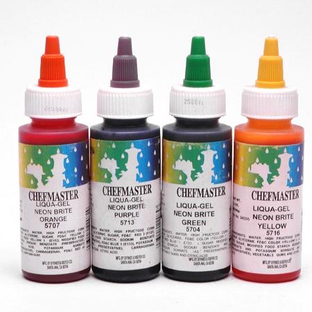 FREE Chefmaster Food Coloring Samples