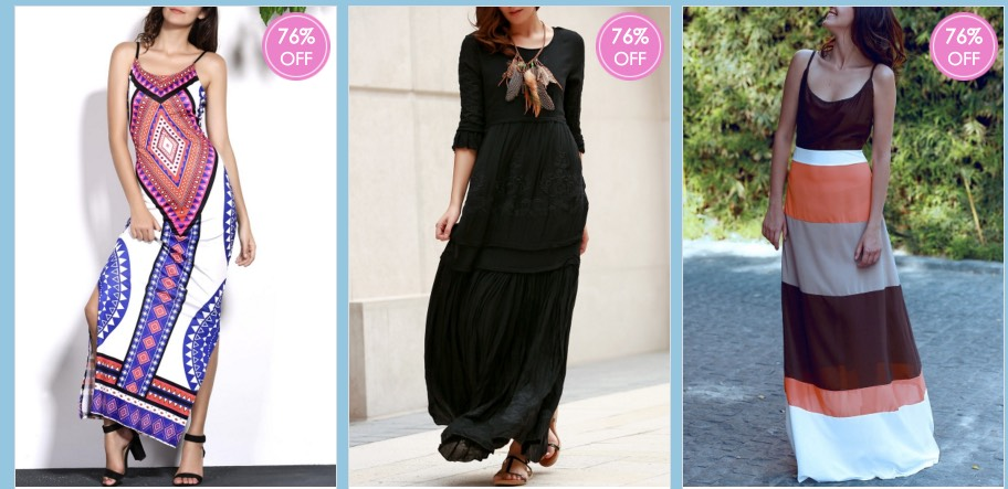 *HOT* Huge Sale on Maxi Dresses and More = ONLY $13 + FREE Shipping!