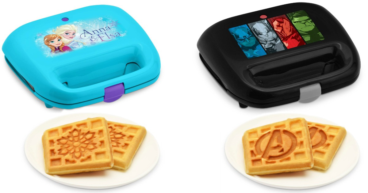 disney-and-marvel-waffle-makers