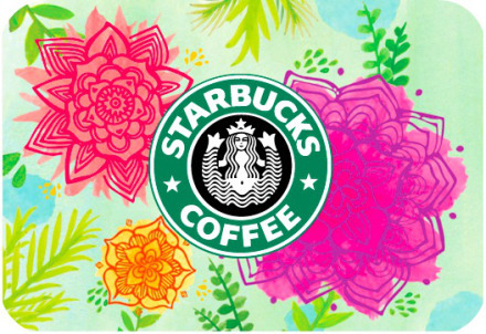 Starbucks Hot Free 10 Gift Card W 10 Gift Cards Purchase