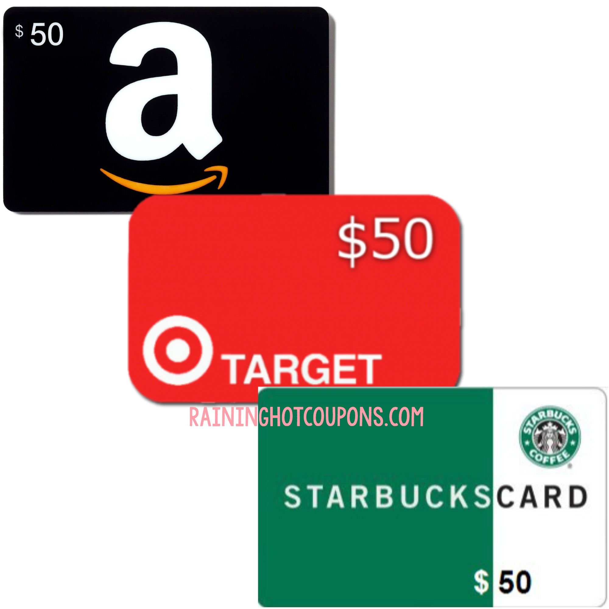 I Am Giving One Of YOU A $50 Gift Card To Amazon, Target