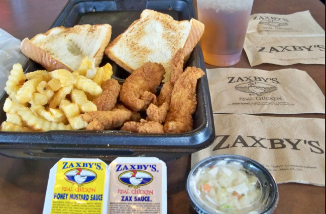 photograph regarding Zaxby's Coupons Printable identified as Cost-free Supper Package against Zaxbys