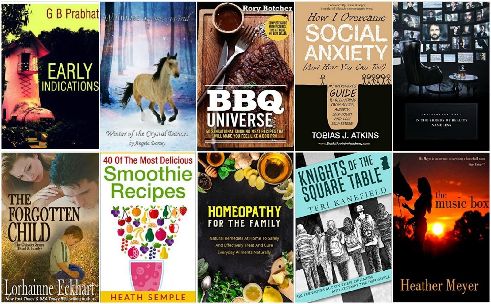 10 Free Kindle Books 6-1-16