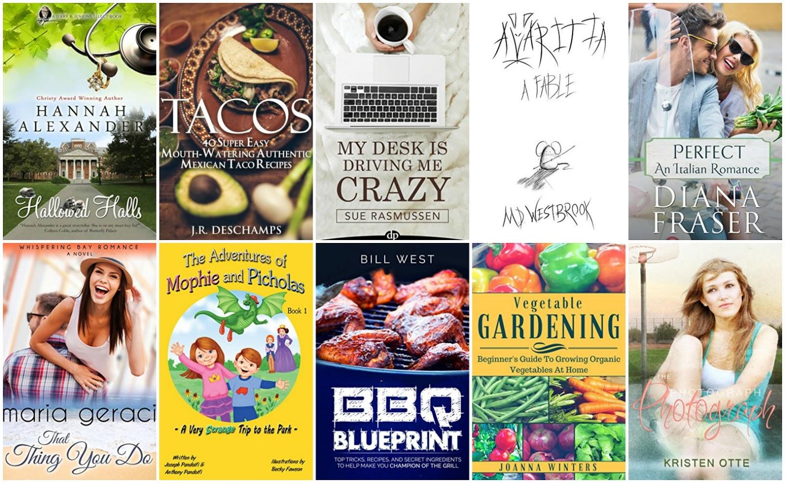 10 Free Kindle Books 6-6-16